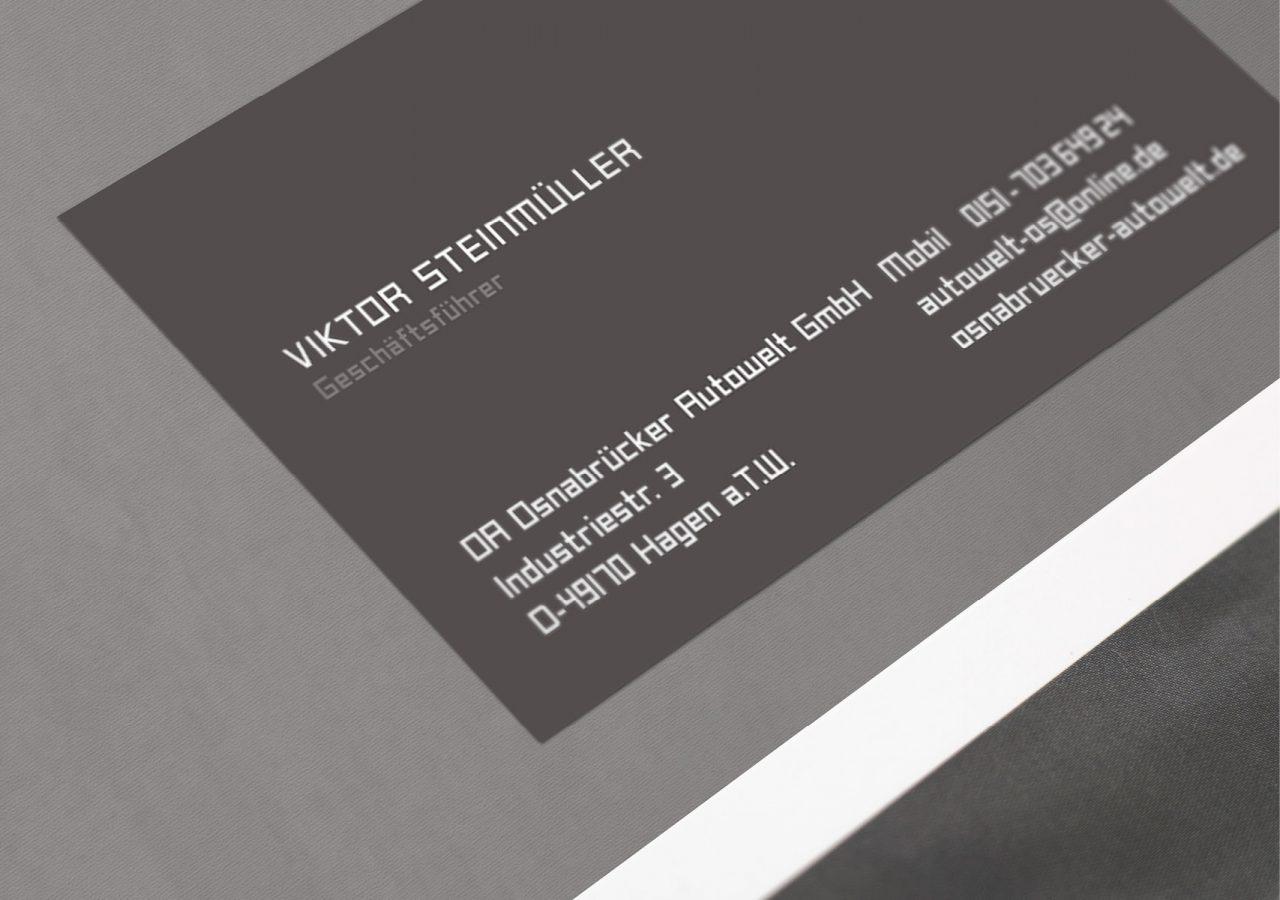 Werbeagentur Osnabrück click-werk Design Konzept Logo Gestaltung Aussenwerbung Banner Stempel Briefbogen Visitenkarte Bandenwerbung Kennzeichenhalter