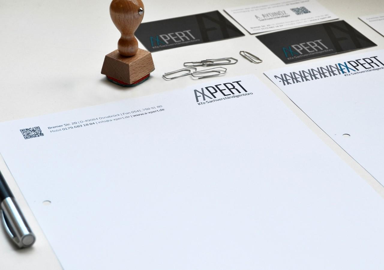 Werbeagentur Osnabrück click-werk Design Gestaltung Namensfindung und Logodesign Visitenkarte Briefpapier Webseite Internetseite Responsive Webseite CMS-System Fahrzeugfolierung