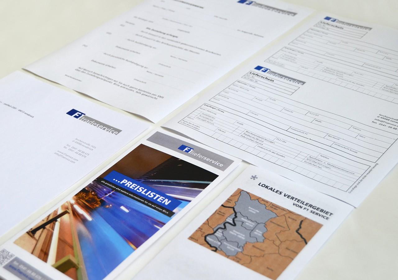 Werbeagentur Osnabrück click-werk Design Gestaltung Flyer Webseite Formulare Bestellformular Lieferungsformular Fahrzeugbeschriftung Durchschreibeblöcke